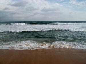 A beach in Liberia